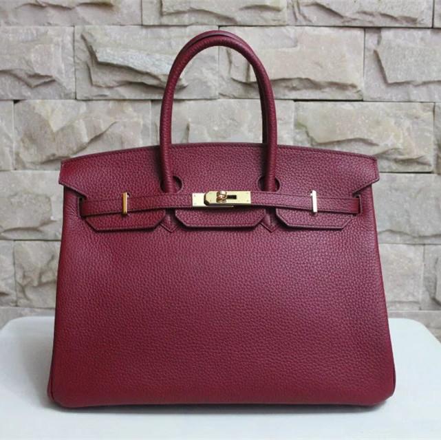 8369723d7776 Hermes Birkin 35cm Handbag Crocodile Leather Pink Gold  RH0326 ...