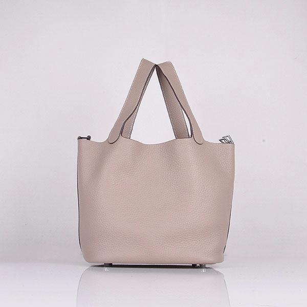 ae519906f168 Hermes Calf Leather 8616 Handbag Gray. Hermes Calf Leather 8616 Handbag Gray.  £153.03. Hermes Picotin Lock Canvas Black
