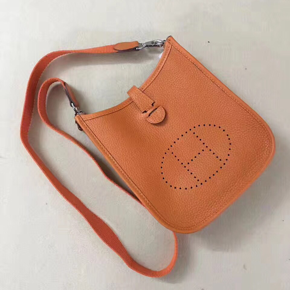 Hermes Mini Evelyne TPM Bag Orange