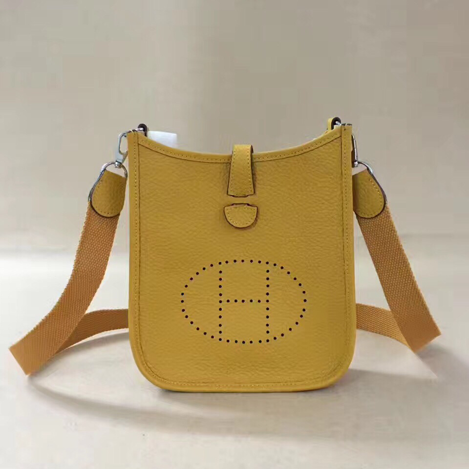 Hermes Mini Evelyne TPM Bag Yellow