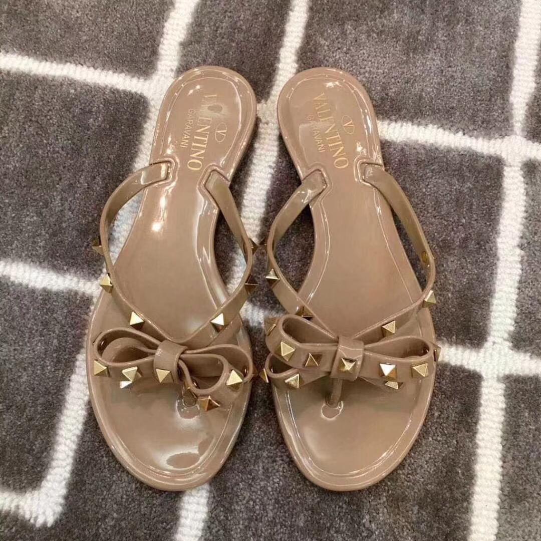 Valentino Jelly Flip Flop Nude Size 35-41