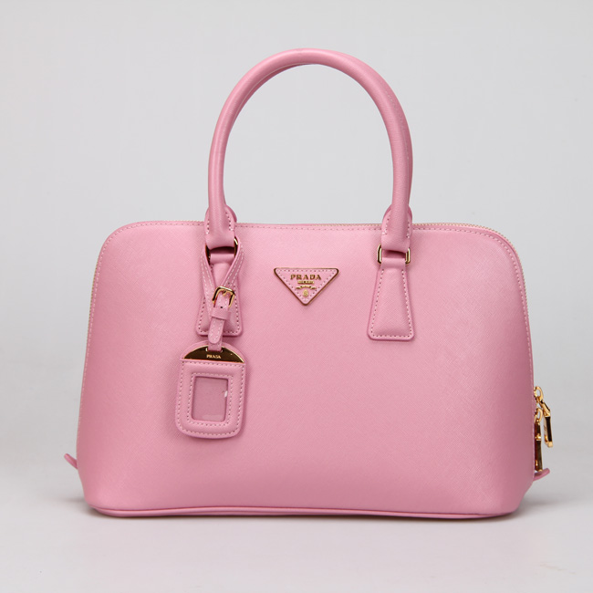Prada 0837 Tote Bag In Barbie Pink