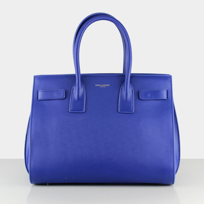 af6b1e5f1c YSL Blue Downtown Tote Cow Leather Bags 2035  RH0932    Buy replica ...