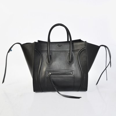 Celine Black Boston Cowhide Bags
